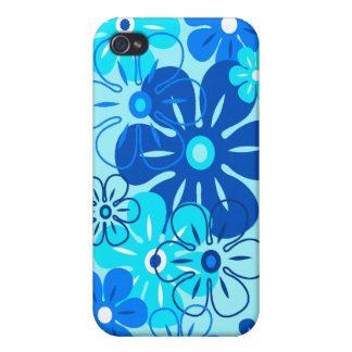 Flower Rain Tropical iPhone 4/4S Cases