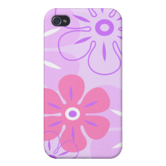 Flower Rain Tropical iPhone 4/4S Covers
