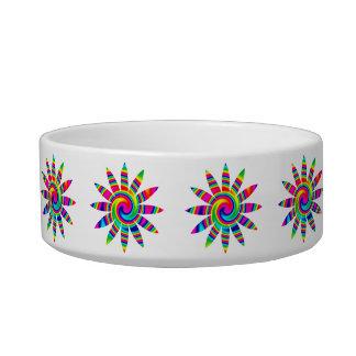 Flower Rainbow Twirl Bowl