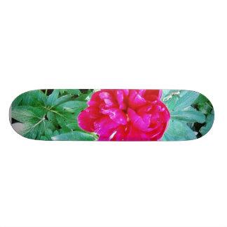 Flower Red Bozur Skate Board Decks