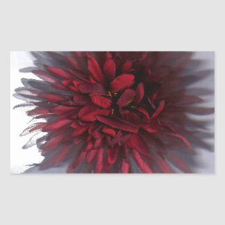 flower red.jpg rectangular sticker