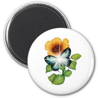 flower refrigerator magnets