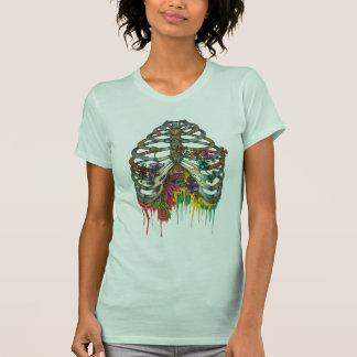 Flower Rib Cage T-Shirt