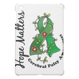 Flower Ribbon 4 Hope Matters Cerebral Palsy iPad Mini Cases