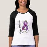 Flower Ribbon 4 Hope Matters Chiari Malformation T Shirts