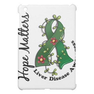 Flower Ribbon 4 Hope Matters Liver Disease Cover For The iPad Mini