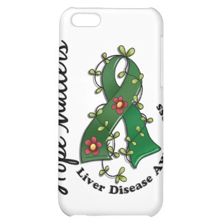 Flower Ribbon 4 Hope Matters Liver Disease iPhone 5C Covers