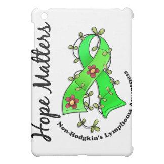 Flower Ribbon 4 Hope Matters Non-Hodgkin's Lymphom Case For The iPad Mini