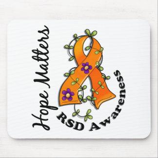 Flower Ribbon 4 Hope Matters RSD Mouse Pad