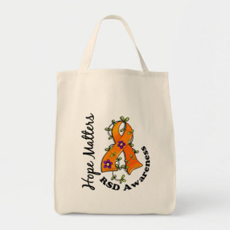 Flower Ribbon 4 Hope Matters RSD Tote Bag