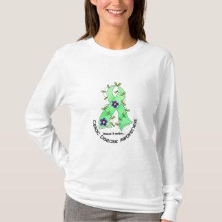 Flower Ribbon CELIAC DISEASE AWARENESS T-Shirts