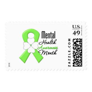 Flower Ribbon - Mental Health Awareness Month Stamp