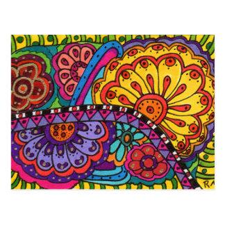 Flower Riot Postcard