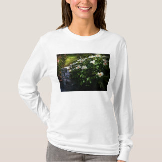 Flower - Rose - By a wall T-Shirt