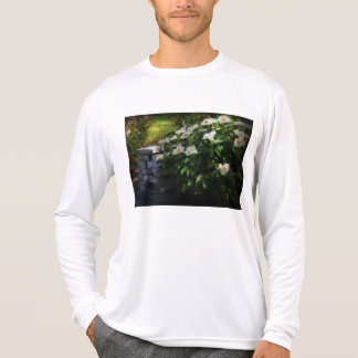 Flower - Rose - By a wall T Shirt