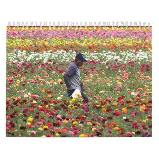 Flower s Calendar - Customized