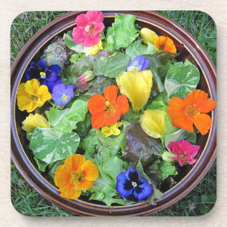 Flower Salad Coaster