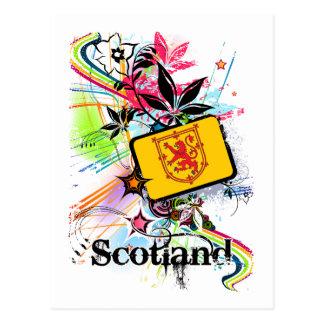 Flower Scotland Postcard