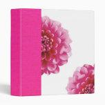 flower scrapbook binder
