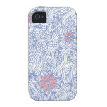 flower scroll iPhone 4/4S cover