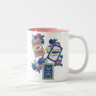 Flower Seed Packet Two-Tone Mug