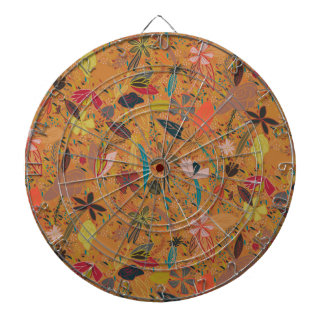 Flower seeds golden sun dart board