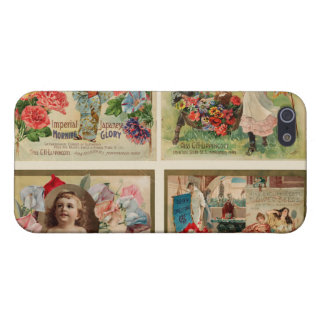 Flower Seeds Vintage Collage iPhone 5 Covers