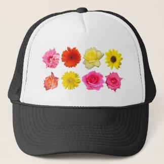 flower set trucker hat
