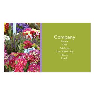 Flower Shop Business Cards