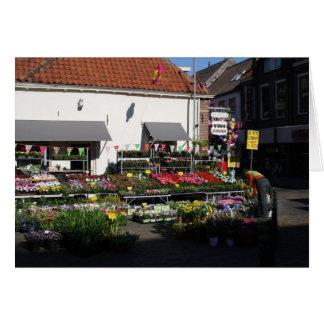 Flower shop card