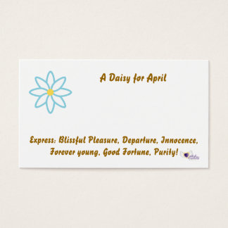 Flower Shop Card For April-Customize