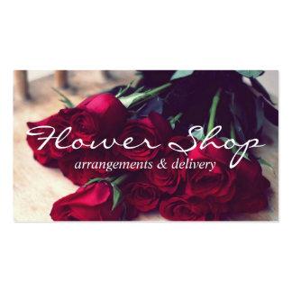 Flower Shop Delivery Florist Business Card