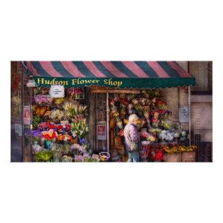 Flower Shop - NY - Chelsea - Hudson Flower Shop Card