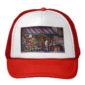 Flower Shop - NY - Chelsea - Hudson Flower Shop Trucker Hats