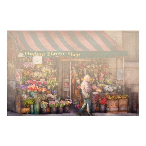 Flower Shop - NY - Chelsea - Hudson Flower Shop Stationery Paper