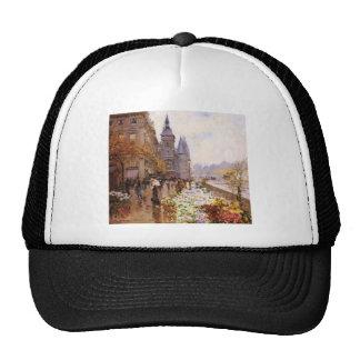 Flower shop of the Seine river paralleling Trucker Hat