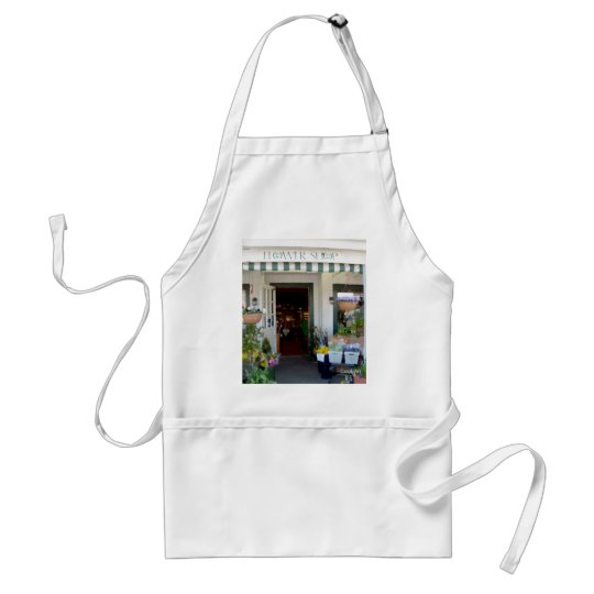 "Flower Shop ""Painting"" Adult Apron"