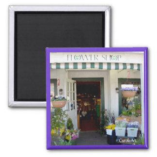 "Flower Shop ""Painting"" Magnet"