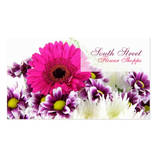 Flower Shoppe Business Cards