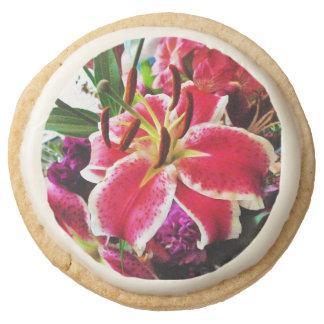 Flower short bread cookie