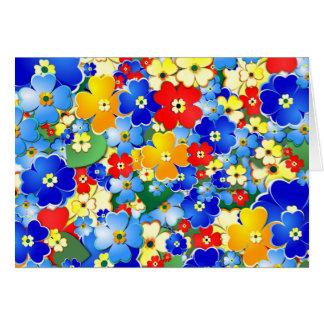 Flower Shower Card