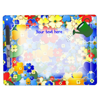 Flower Shower ~ Dry Erase Board