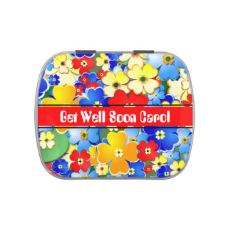 Flower Shower Jelly Belly Tins