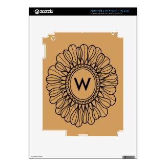 Flower Single iPad 3 Decals