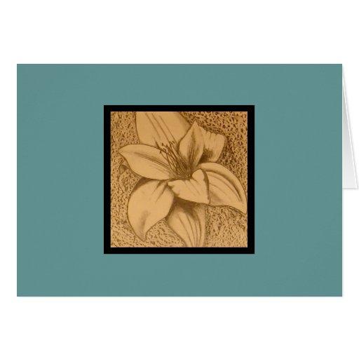 Flower Sketch Cards