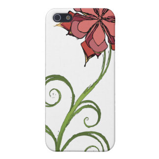 Flower Sketch Case For iPhone 5
