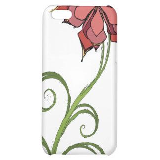 Flower Sketch iPhone 5C Case