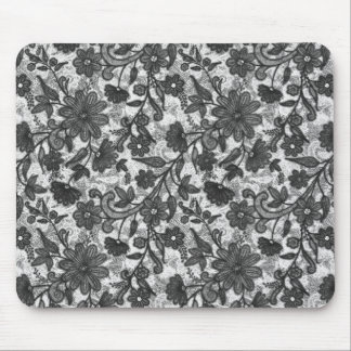 Flower Sketch Mouse Pad