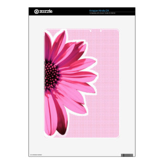 flower decal for the kindle