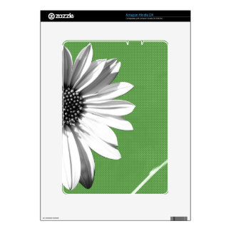 flower decals for the kindle DX